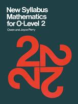 New Syllabus Mathematics for O-Level 2