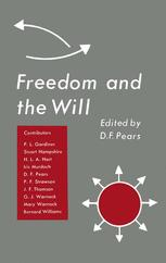 Freedom and the Will