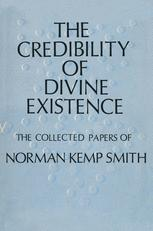 The Credibility of Divine Existence