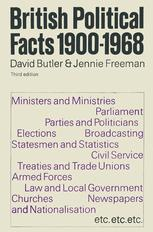 British Political Facts 1900–1968
