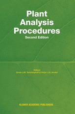 Plant Analysis Procedures