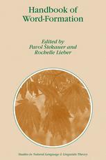 Handbook of Word-Formation