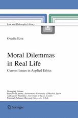 MORAL DILEMMAS IN REAL LIFE
