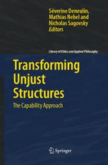 Transforming Unjust Structures The Capability Approach