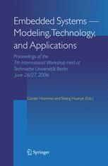 Embedded Systems – Modeling, Technology, and Applications
