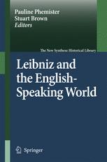 Leibniz and the English-Speaking World