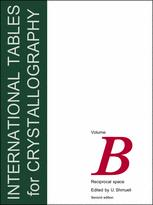International Tables for Crystallography Volume B: Reciprocal space