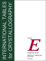 International Tables for Crystallography Volume E: Subperiodic groups