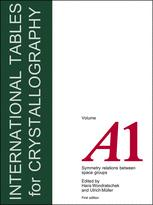 International Tables for Crystallography Volume A1: Symmetry relations between space groups