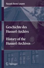 History of the Husserl-Archives Leuven