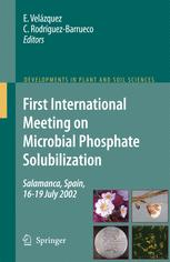 First International Meeting on Microbial Phosphate Solubilization