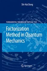 Factorization Method in Quantum Mechanics