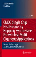 CMOS Single Chip Fast Frequency Hopping Synthesizers For Wireless Multi-Gigahertz Applications