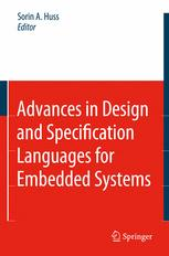 Advances in Design and Specification Languages for Embedded Systems