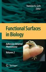 Functional Surfaces in Biology