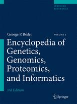 Encyclopedia of Genetics, Genomics, Proteomics and Informatics