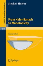 From Hahn-Banach to Monotonicity