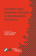 Integrity and Internal Control in Information Systems VI