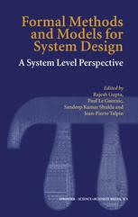 Formal Methods and Models for System Design