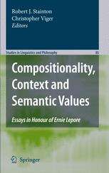 Compositionality, Context and Semantic Values