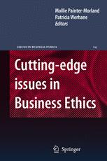 Cutting-edge issues in Business Ethics