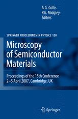 Microscopy of Semiconducting Materials 2007