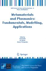 Metamaterials and Plasmonics: Fundamentals, Modelling, Applications