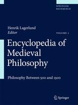 [Encyclopedia of Medieval Philosophy]