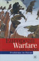 European Warfare 1815–2000