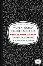 The Open World and Closed Societies