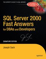 SQL Server 2000 Fast Answers
