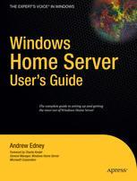Windows Home Server User's Guide