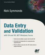 Data Entry and Validation with C# and VB .NET Windows Forms