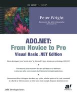 ADO.NET: From Novice to Pro, Visual Basic .NET Edition