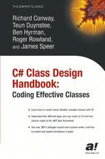C# Class Design Handbook: Coding Effective Classes