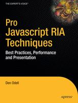 Pro JavaScript™ RIA Techniques