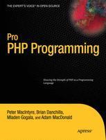 Pro PHP Programming