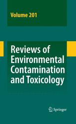 Reviews of Environmental Contamination and Toxicology Vol 201