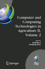 Computer and Computing Technologies in Agriculture II, Volume 2