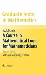 A Course in Mathematical Logic for Mathematicians