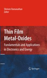 Thin Film Metal-Oxides