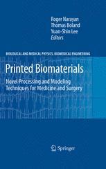 Printed Biomaterials