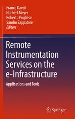 Remote Instrumentation Services on the e-Infrastructure