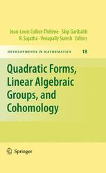 Quadratic Forms, Linear Algebraic Groups, and Cohomology