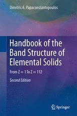 Handbook of the Band Structure of Elemental Solids