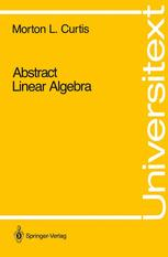 Abstract Linear Algebra