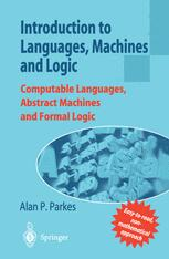 Introduction to Languages, Machines and Logic