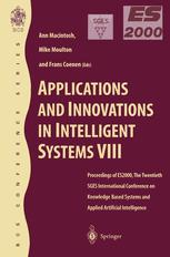 Applications and Innovations in Intelligent Systems VIII