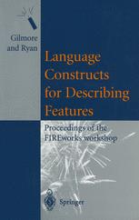 Language Constructs for Describing Features