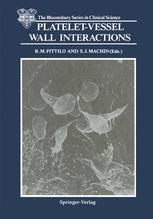 Platelet-Vessel Wall Interactions